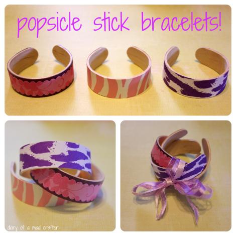 Quà tặng độc đáo với cách làm vòng tay handmade từ que kem