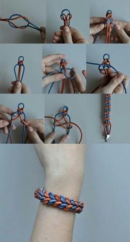 Dạy làm vòng tay handmade, làm vòng đeo tay bằng dây dù, cách thắt vòng tay handmade kì công chưa