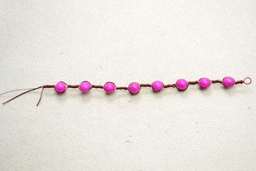 Uốn thật lâu với các hạt đá mới được chiếc vòng tay vintage, tự làm vòng tay handmade xinhh yêu này đó