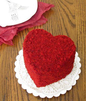 bánh gato trái tim không cần lò mà hấp cách thuỷ