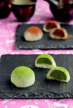 Mochi - bánh nếp dẻo truyền thống của Nhật không cần lò nướng