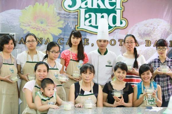 Lớp học làm bánh chuyên nghiệp tại Baker Land