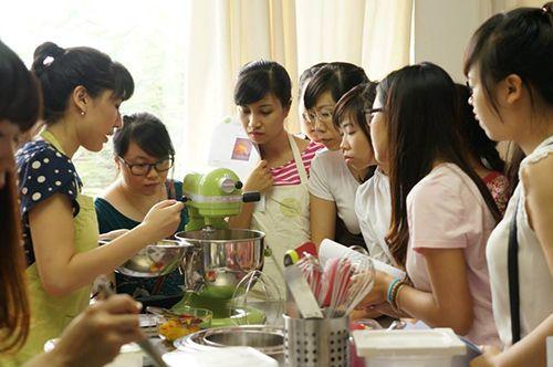 Lớp học làm bánh tại Studio Kitchen Art