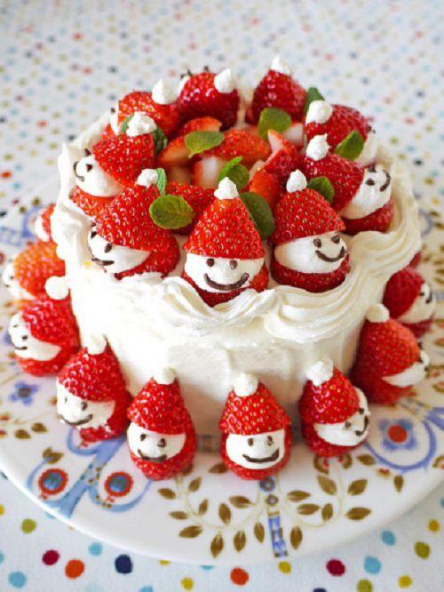 Cách làm bánh kem người tuyết cho lễ giáng sinh