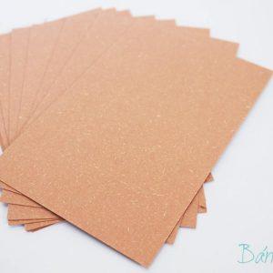 Giấy bìa xi măng hồng 10x14cm (5 tờ)