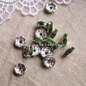 Hạt dẹt viền lấp lánh - mẫu 2