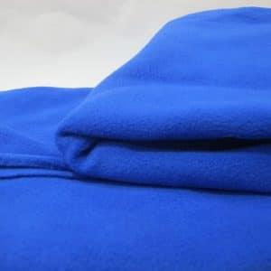 Vải nỉ làm gối 50x70cm - xanh coban