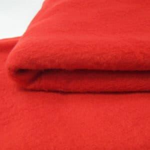 Vải nỉ làm gối 50x70cm - đỏ