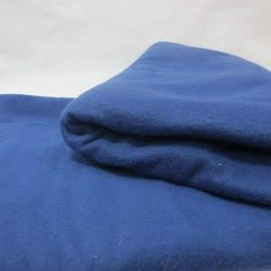 Vải nỉ làm gối 50x70cm - xanh dương