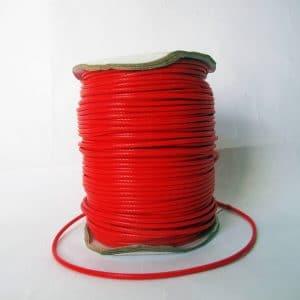 Dây dù bóng 2mm màu đỏ (2m)