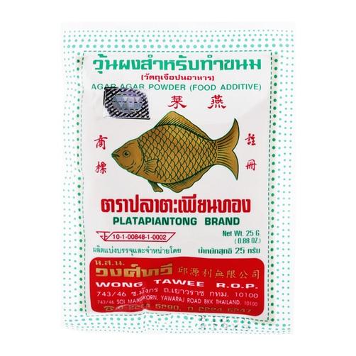 Bột rau câu con cá vàng 25g