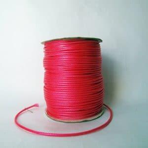 Dây dù bóng 2mm màu hồng (2m)