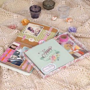 Bộ kit scrapbook mẫu 4