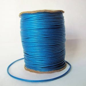 Dây dù bóng 2mm màu xanh dương (2m)