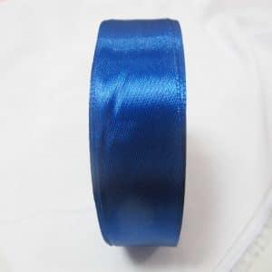 Ruy băng lụa 2.5cm - xanh biển