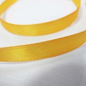 Ruy băng lụa 1cm - vàng