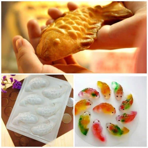 Bánh thành phẩm từ khuôn nhựa