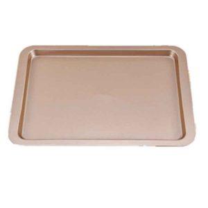 Khay nướng bánh 33x23x2cm màu vàng
