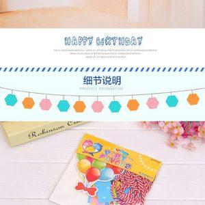 Dây chữ trang trí sinh nhật Happy Birthday cách điệu