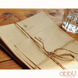 Tập giấy viết thư Natural set (12 tờ)