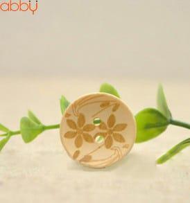 Cúc gỗ tròn