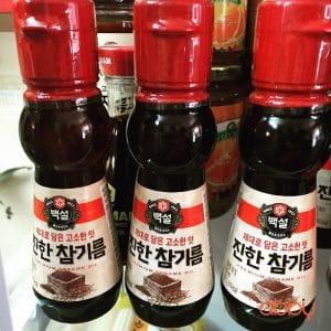 Dầu mè Hàn Quốc thượng hạng 110ml
