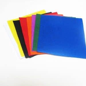 Set vải dạ 15x15cm 8 màu cơ bản