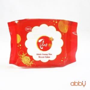 Bộ túi và khay đựng bánh 250g màu đỏ truyền thống (12 chiếc)