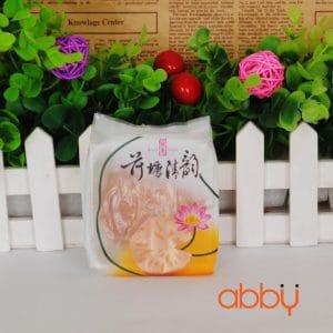 Bộ túi và khay đựng bánh 75g hoa sen (12 chiếc)
