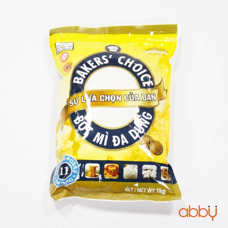 Bột mì Bakers' Choice số 11 (All purpose flour) 1kg