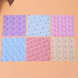 Giấy origami in hình tháp Eiffel khổ 15x15cm (72 tờ)