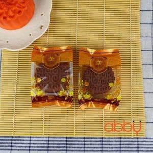 Bộ túi và khay đựng bánh 50g truyền thống (12 chiếc)