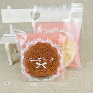 Bộ túi và khay đựng bánh 125g dán mép Especially for you (12 chiếc)
