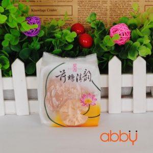 Túi đựng bánh 75g hoa sen (100 chiếc)