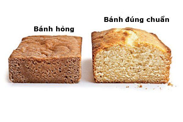 Bánh nở đều và không đều