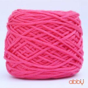 Len cotton bánh - màu hồng đậm - số 16