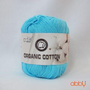 Len baby organic - màu xanh da trời - số 5