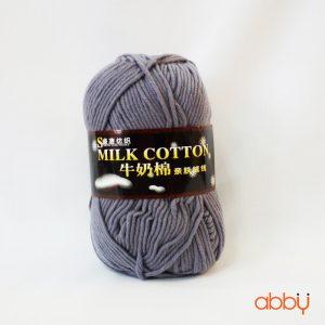 Len cotton milk - màu lông chuột - số 13