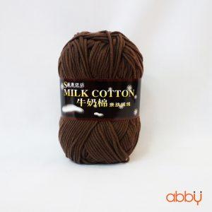 Len cotton milk - màu nâu nhạt - số 21