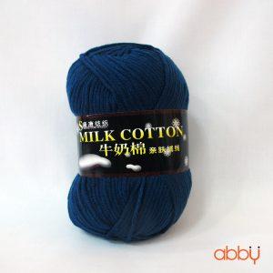 Len cotton milk - màu xanh cổ vịt - số 32