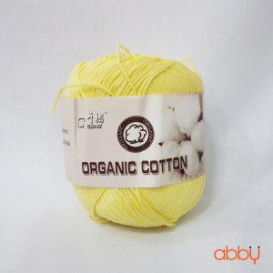 Len baby organic - màu vàng nhạt - số 1