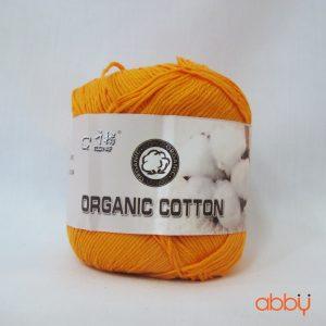 Len baby organic - màu cam đậm - số 3
