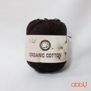 Len baby organic - màu nâu đậm - số 15