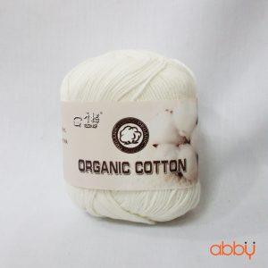 Len baby organic - màu trắng sữa - số 16
