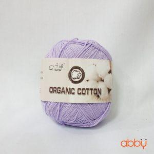 Len baby organic - màu tím nhạt - số 22