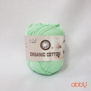 Len baby organic - màu xanh ngọc - số 27