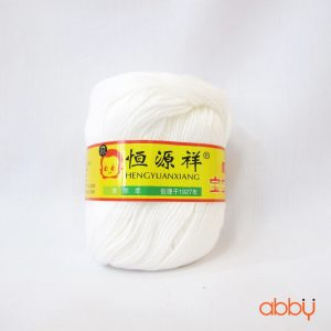Len baby - màu trắng - số 20
