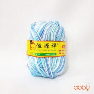Len baby - màu pha xanh trắng - số 38
