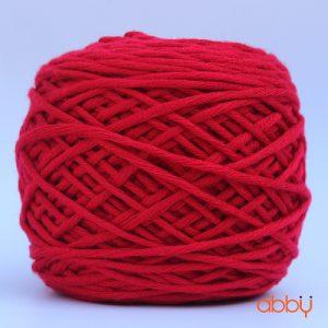 Len cotton bánh - màu đỏ tươi - số 23