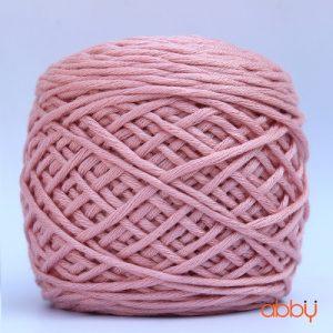 Len cotton bánh - màu hồng phớt - số 30